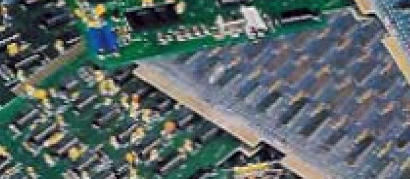 電子機器スクラップイメージ