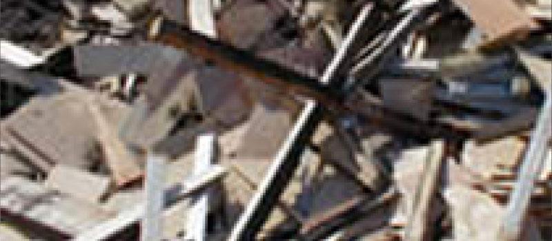 建設解体廃材・ガレキイメージ